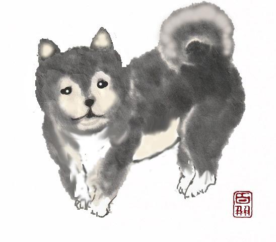 SS★柴犬 落款入り-4.jpg